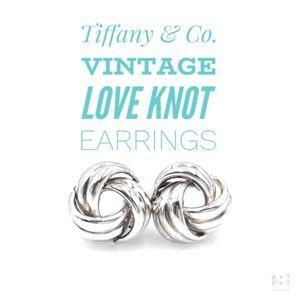 Tiffany & Co. Vintage Love Knot Earrings